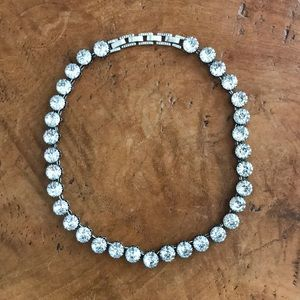 EUC Stella & Dot Rhinestone Necklace